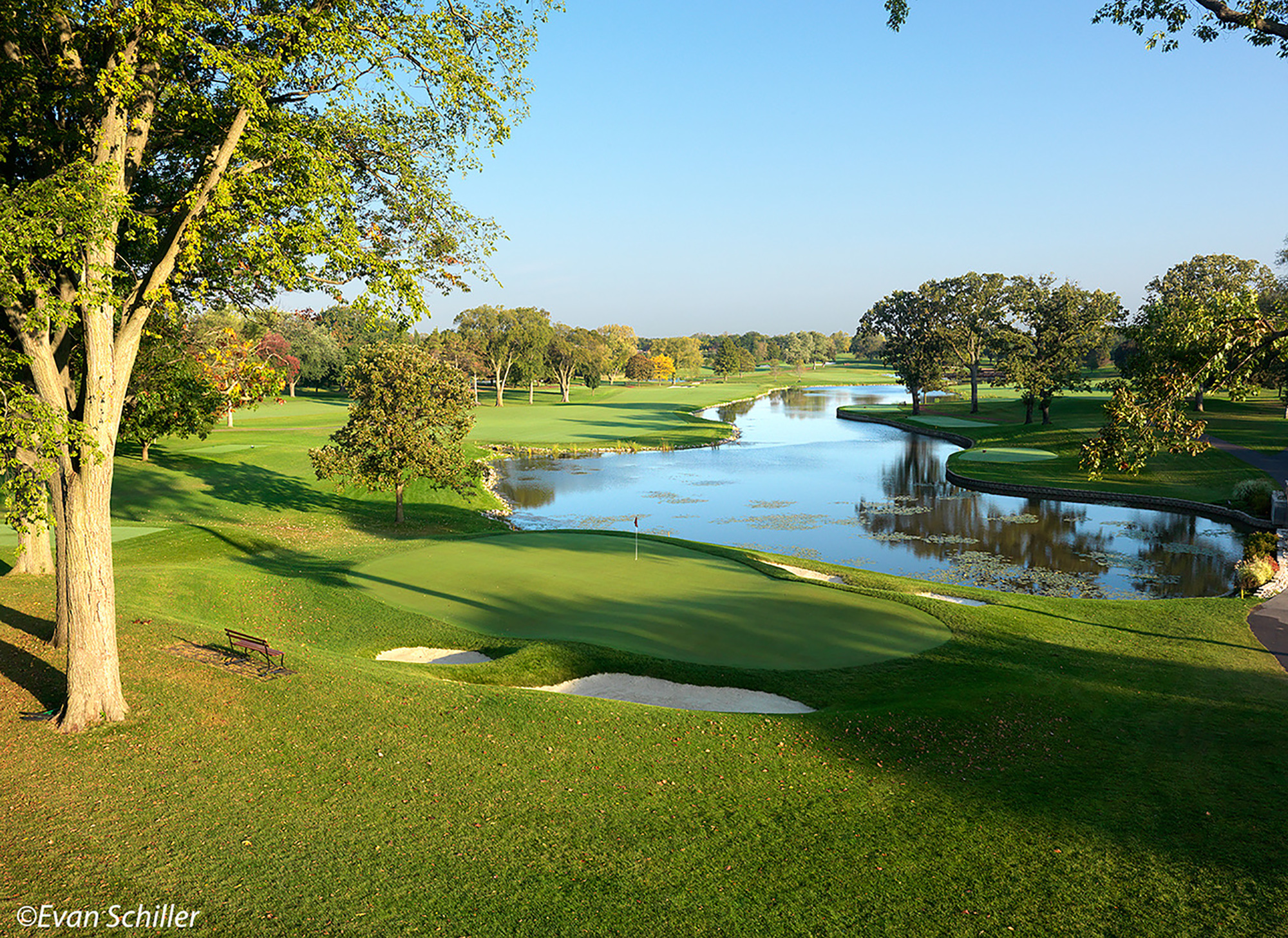 18th Hole, Medinah Country Club Course #1
